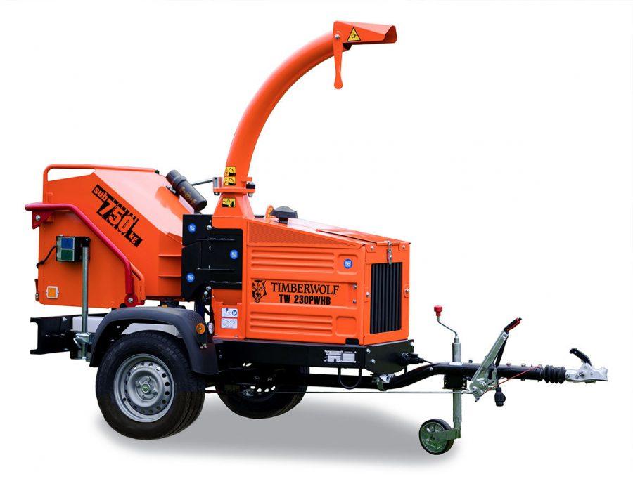 Timberwolf TW 230PWHB Petrol Wood Chipper