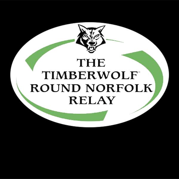 Timberwolf Round Norfolk Relay Logo - news