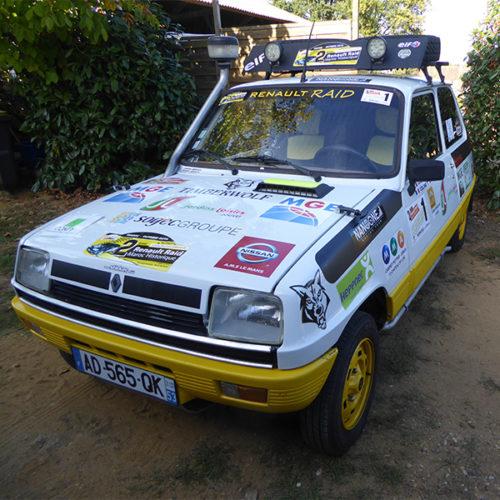Timberwolf Renault Raid Renault 5