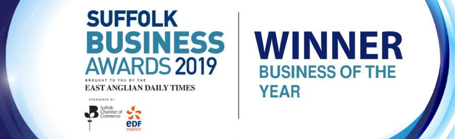 Winner Suffolk Business of the Year 2019